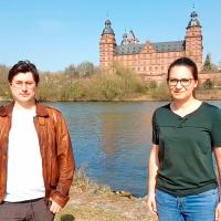 SPD Vorsitzende Manuel Michniok und Sophie Peter